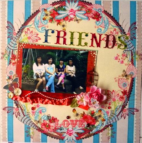 Friends-Papierhouse Challenge